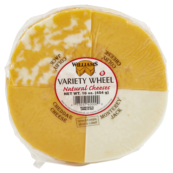 Williams Cheese Variety Wheel